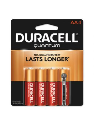 Quantum Alkaline Batteries, AA, 4/PK