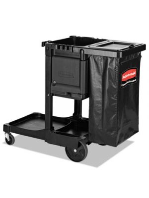 Executive Janitorial Cleaning Cart, 12.1