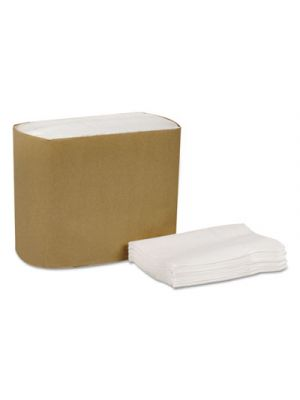 Universal Lowfold Dispenser Napkins, 1-Ply, 7