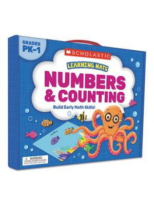 Learning Mats Kit, Numbers, 70 Cards, Ages 3 and Up
