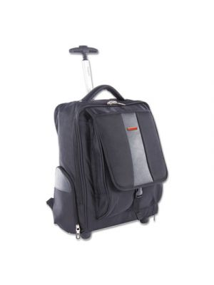 Litigation Backpack On Wheels, Holds Laptops 15.6
