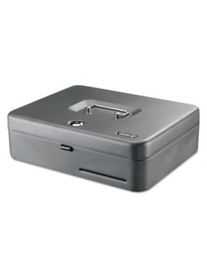 Tiered Cash Box with Bill Weights, 2 Keys, 9.84
