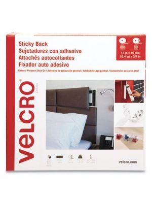 Sticky Back Hook & Loop Fasteners, 3/4