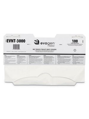 Evogen No Touch Toilet Seat Covers, 15 1/2