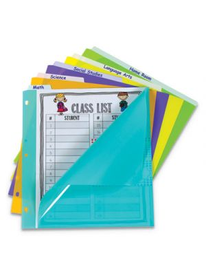 5-Tab Index Dividers with Vertical Tab, 5-Tab, 11 1/2
