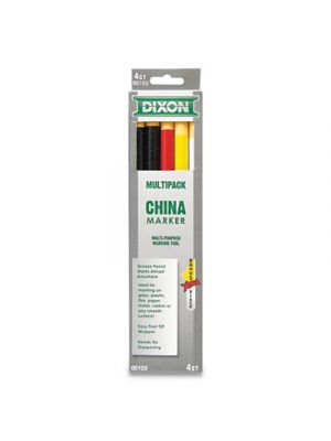 China Marker, Assorted, 12/Set