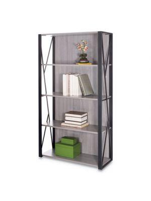 Mood Bookcases, 31 3/4w x 12d x 59h, Gray