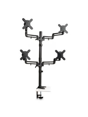 Quad Monitor Mount Stand, For Monitors up to 13