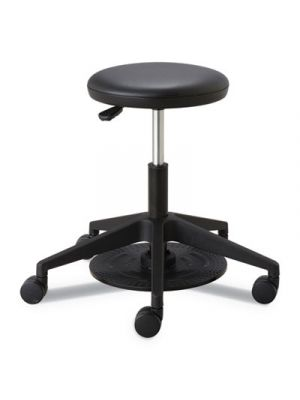 Lab Stool, 24 1/4h, Black, Supports up to 250 lbs.