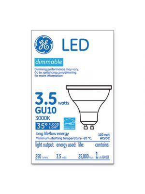LED MR16 GU10 Dimmable Warm White Flood Light, 3000K, 3.7W