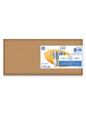 LED Soft White 3-Way A21 Light Bulb, 22W, 2/Pack