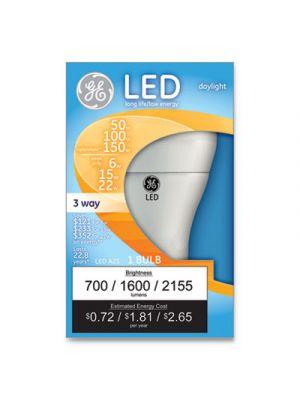 LED Daylight 3-Way A21 Light Bulb, 11W