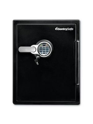 Fire-Safe w/Biometric & Keypad Access, 2 ft3, 18.6 x 19.6 x 23.8, Black