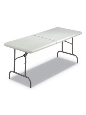 IndestrucTables Too 1200 Series Folding Table, 30w x 72d x 29h, Platinum