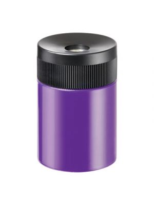 Handheld Barrel Pencil Sharpener, Assorted, 6/Box