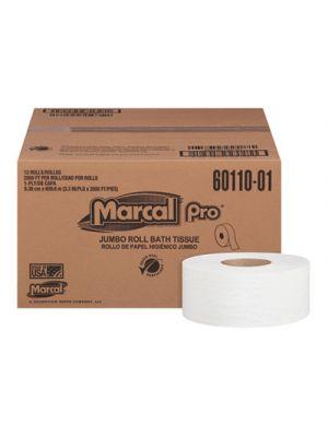 Bathroom Tissue, 1-Ply, White, 3.3