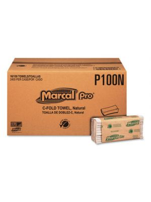 Folded Paper Towels, 1-Ply, 10 1/8