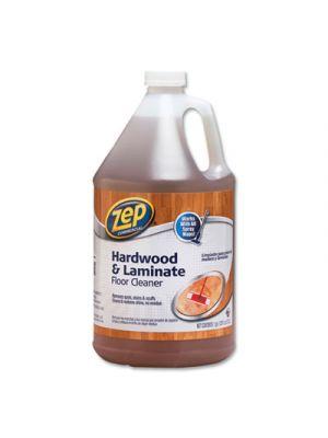 Hardwood and Laminate Cleaner, Fresh Scent, 1 gal, 4/Carton