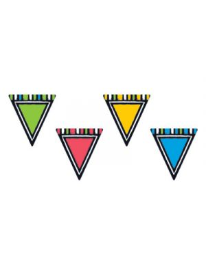 Bold Strokes Classic Accents Variety Pack, Pennants, Assorted, 6