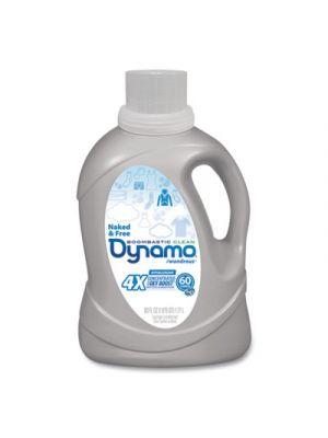 Naked and Free Laundry Detergent, 60 oz Bottle, 6/Carton
