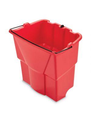 WaveBrake 2.0 Dirty Water Bucket, 4.2 gal, Plastic, Red