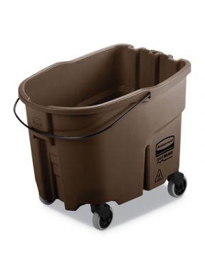 WaveBrake 2.0 Bucket, 35 qt, Plastic, Brown