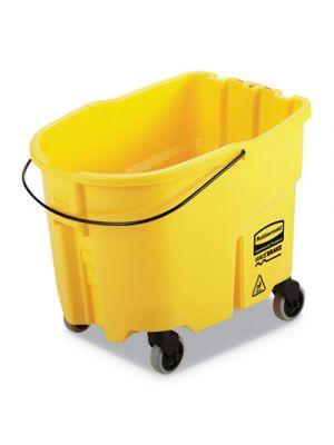 WaveBrake 2.0 Bucket, 8.75 gal, Plastic, Yellow