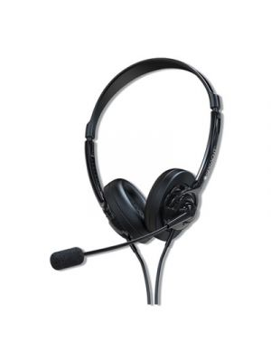 ZuM ZuM350B, Binaural, Over The Head Headset