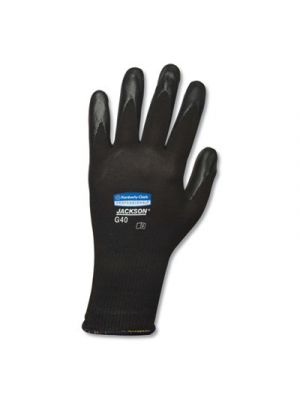 G40 Polyurethane Coated Gloves, Black, 2X-Large, 60/Carton