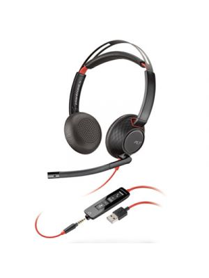 Blackwire 5220, Binaural, Over The Head Headset