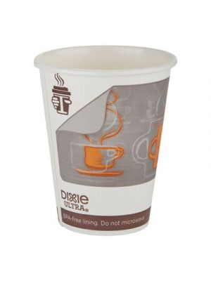 Dixie Ultra Insulair Paper Hot Cup, 20 oz, Coffee, 40 Cups/Sleeve, 15 Sleeves/CT