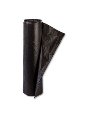 High-Density Commercial Can Liner, 45 gal, 48 x 40, Black, 25/Roll, 10 Rolls/CT