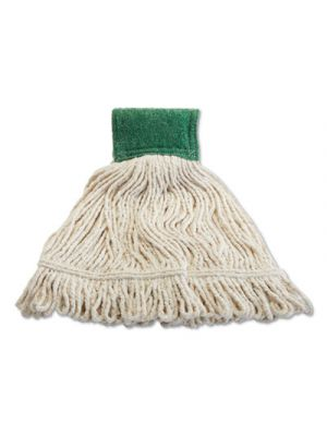 Scrubbing Wet Mop, Cotton/Synthetic Blend, 19