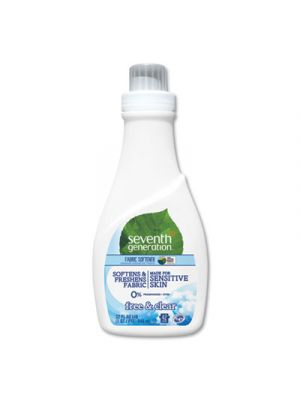 Natural Liquid Fabric Softener, Free and Clear/Unscented 32 oz, Bottle