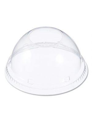 Lids for Foam Cups and Containers, Clear, 1000/Carton