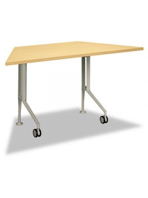 Perpetual Series Trapezoid Training Table, 60w x 30d x 29-1/2h, Natural Maple