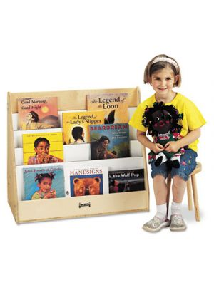 Pick-a-Book Stand, 30w x 16-1/2d x 27-1/2h, Birch