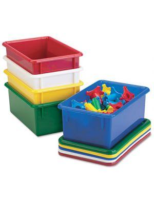 Cubbie Trays, 8-5/8w x 13-1/2d x 5-1/4h, Blue
