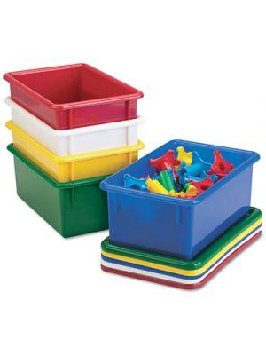 Cubbie Tray Lids, 8-5/8w x 13-1/2d, Blue