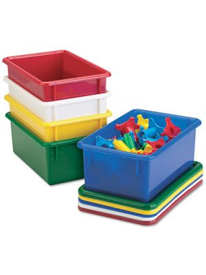 Cubbie Trays, 8-5/8w x 13-1/2d x 5-1/4h, Yellow