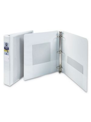 Economy View Binder with Round Rings, 1 1/2