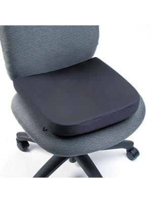 Memory Foam Seat Rest, 15 1/2w x 16d x 2h, Black