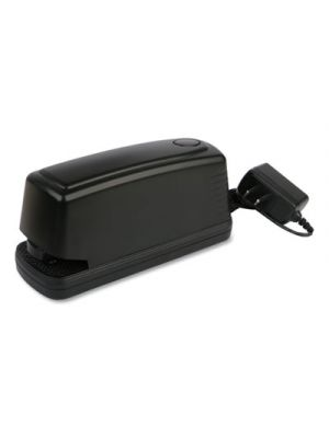 Electric Stapler with Staple Channel Release Button, 30-Sheet Capacity, Black