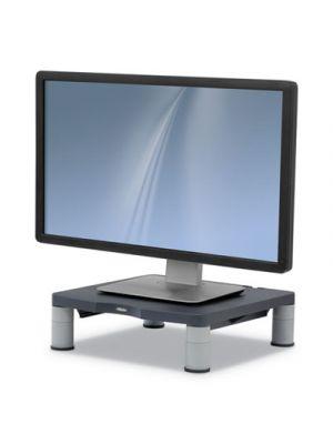 Standard Monitor Riser, 13.38w x 13.63d x 6h, Graphite