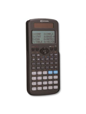 Advanced Scientific Calculator, 252 Functions, 12-Digit LCD, Two Display Lines