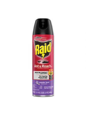 Ant and Roach Killer, 17.5 oz Aerosol, Lavendar