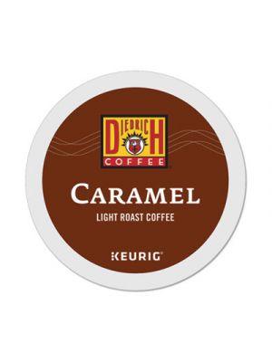 Caramel K-Cup Pods, Caramel, 0.33 oz, K-Cup, 24/Box