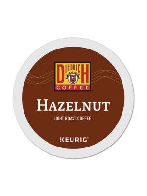 Hazelnut K-Cup Pods, Hazelnut, 0.31 oz, K-Cup, 24/Box