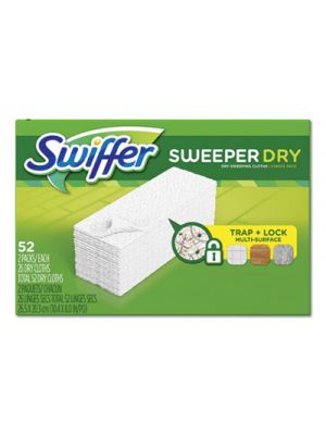 Dry Refill Cloths, White, 10 2/5