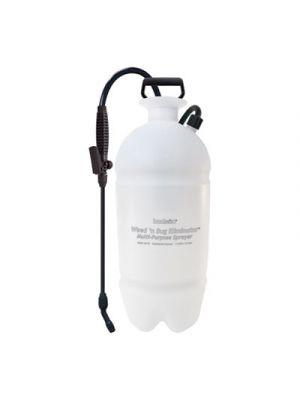 Standard Sprayer, Wand w/Nozzle, 2gal, Polyethylene, White/Black